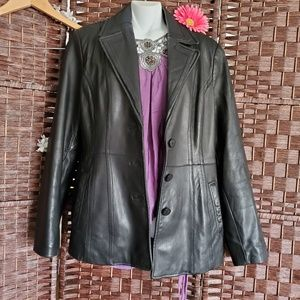 ANNE KLEIN  Coat Black Very nice